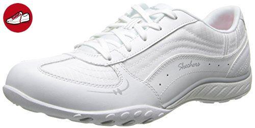 Skechers Breathe-EasyTake Ten Damen Sneakers, Weiß, 37 EU - Skechers schuhe (*Partner-Link)