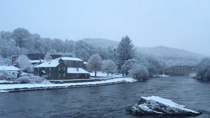 it's been pretty snowy up here of late, we're starting to wonder if its #Pitlochry or Narnia? #scotstorm #snow