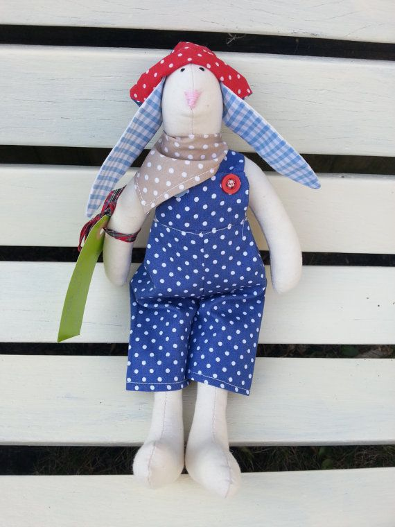 Check out this item in my Etsy shop https://www.etsy.com/uk/listing/126582793/easter-bunny-rag-bunny-linen-bunny