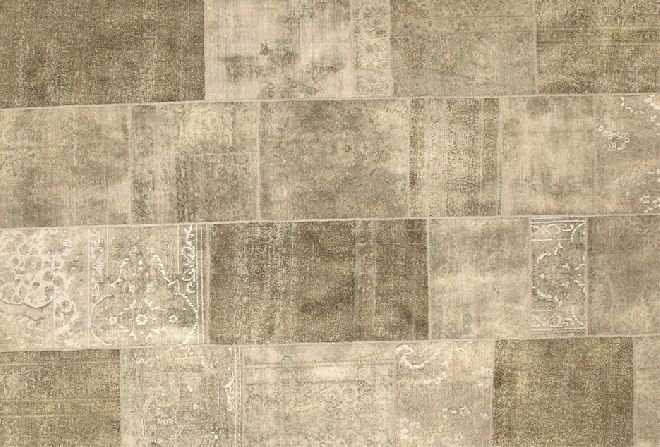 The Karma Patchwork GR2001 rug is one of many examples of how Sartori added contemporary features to antique products communicating their message from ancient times. Check it out at design2taste.com