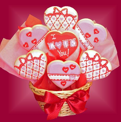 LOVE Cookie Bouquet