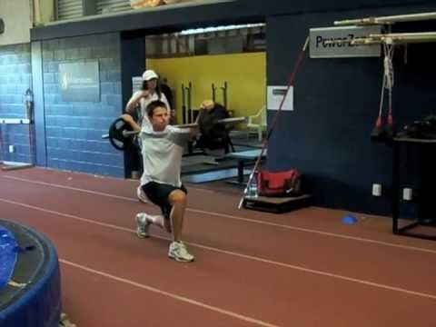 SHOT PUT Conditioning Part 1 The Legs by Didier POPPE
