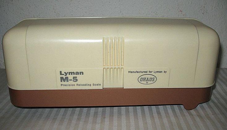 Lyman Ohaus Model M5 Precision Reloading Scale Complete w Instructions Orig Box #Lyman