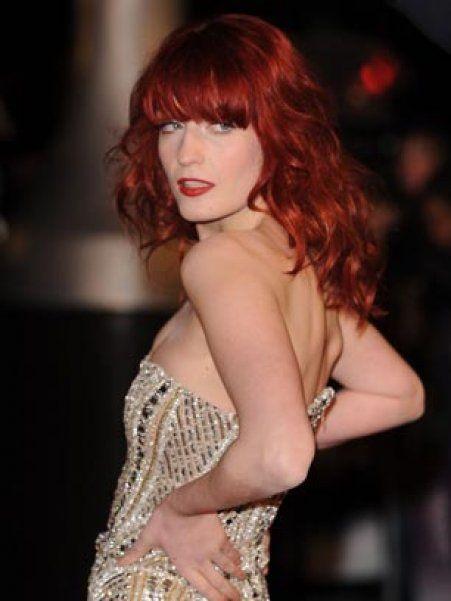 Cheveux : le roux flamboyant de Florence Welch