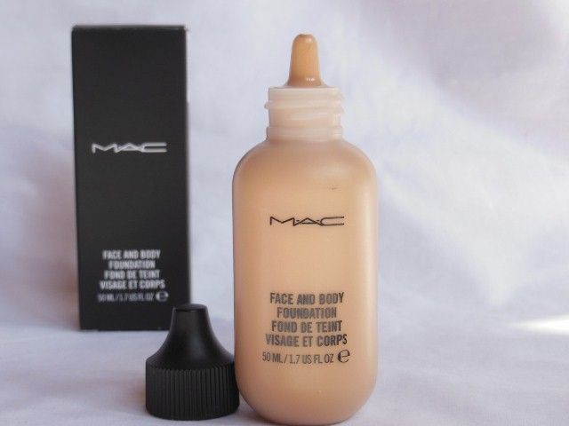 MAC Face and Body Foundation C4 Review, Swatch, FOTD