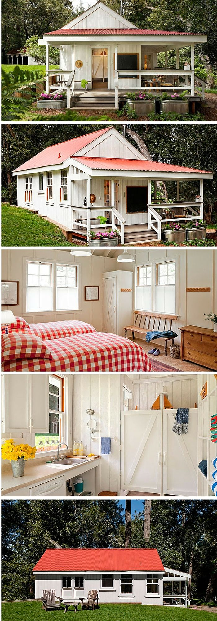 A stunning 260 square foot home located on the Pt Reyes