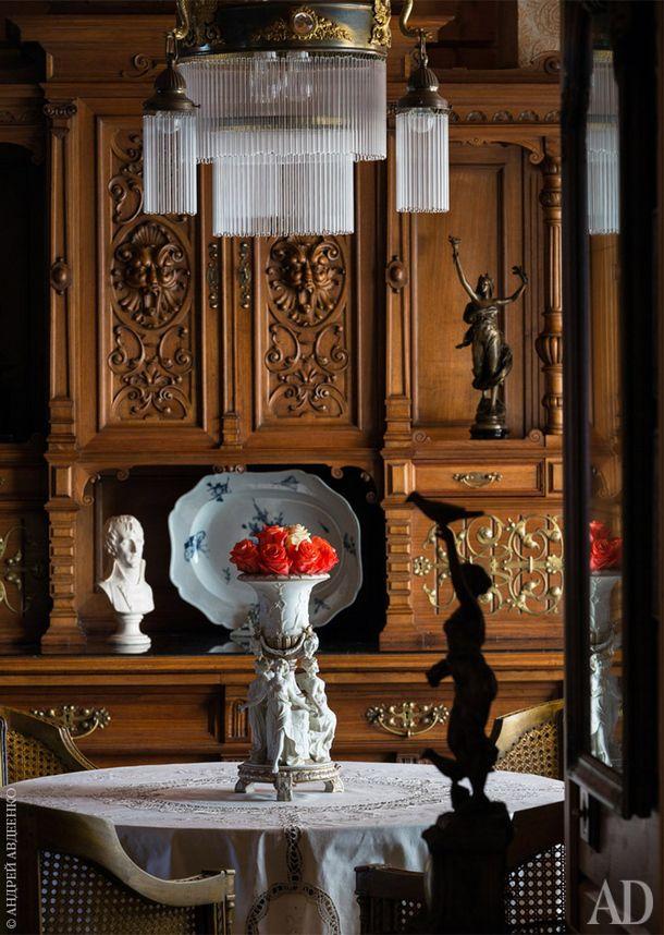 Дом дизайнера Артема Левитина в поселке Круглик рядом с Киевом: фото интерьеров | AD Magazine