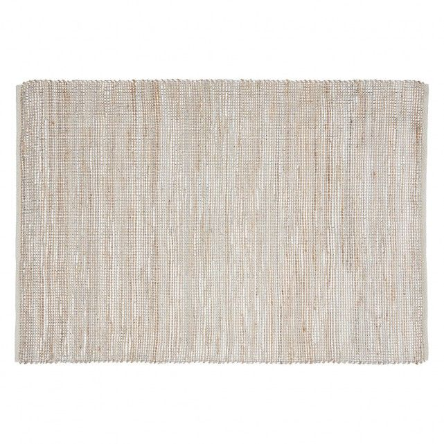 The Annika Medium Natural Hand Woven Jute Rug With Silver Detail Takes A Classic Design In A Rustic Material And Gives It A Glamorous Twist Br Th