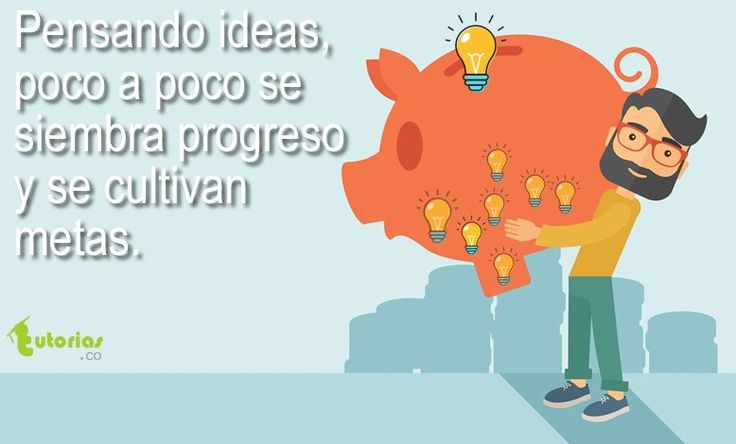 Cultivando las ideas.