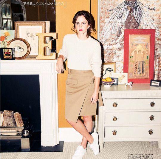 Emma Watson featured in Japanese magazine