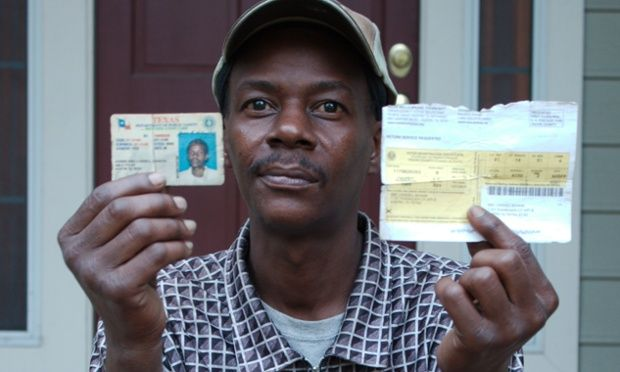 'Born and raised' Texans forced to prove identities under new voter ID law |via`tko The Guardian