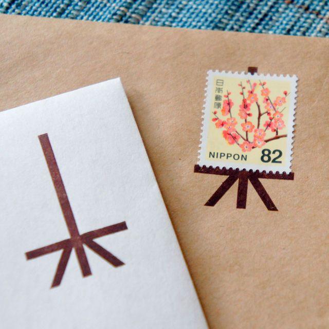 ハンドメイドマーケット minne(ミンネ)| 切手をかざる 封筒