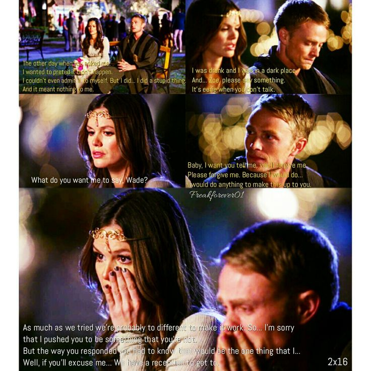 Zoe and Wade Break up  #zoeandwade #zade #hartofdixie #breakup #2x16 #zoehart #wadekinsella #sad #forever #rachelbilson #wilsonbethel