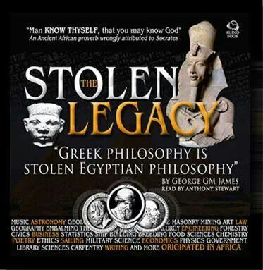 egyptian legacy stolen by greeks essay The main idea of stolen legacy is to prove that the ancient egyptian teachings  and education was taught to certain historical figures, was then brought to athens .