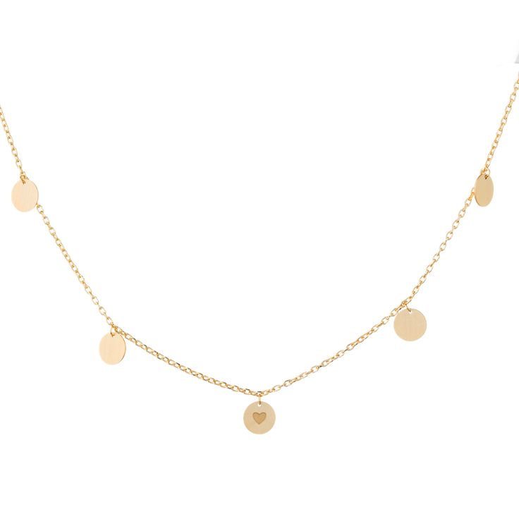 Bold Charm Golden Necklace