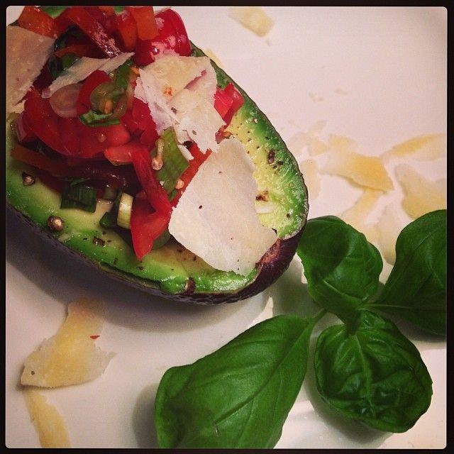 Gefüllte Avocado