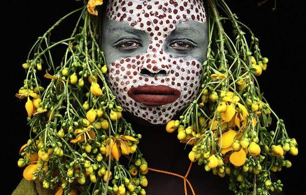 Tribe Surma bush fashion gone wild.