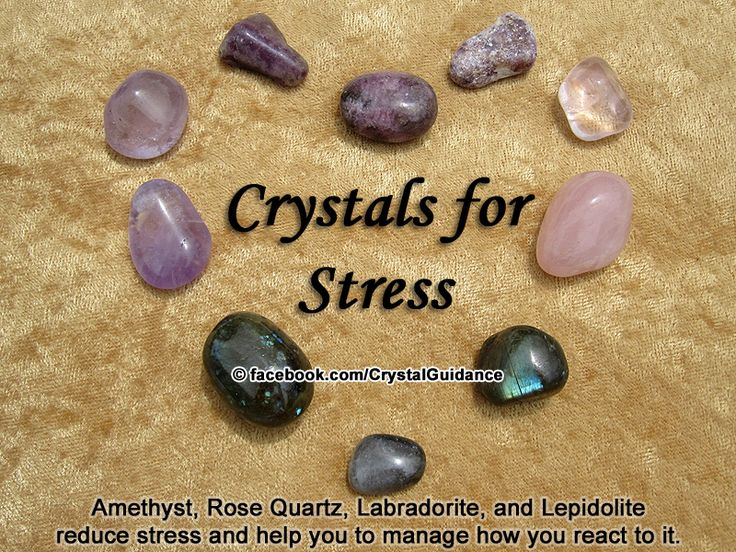 Crystal Guidance: Crystal Tips and Prescriptions - Stress