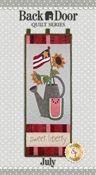 Back Door Wall Hanging Kit (Pre-fused & Laser Cut) - Sweet Liberty
