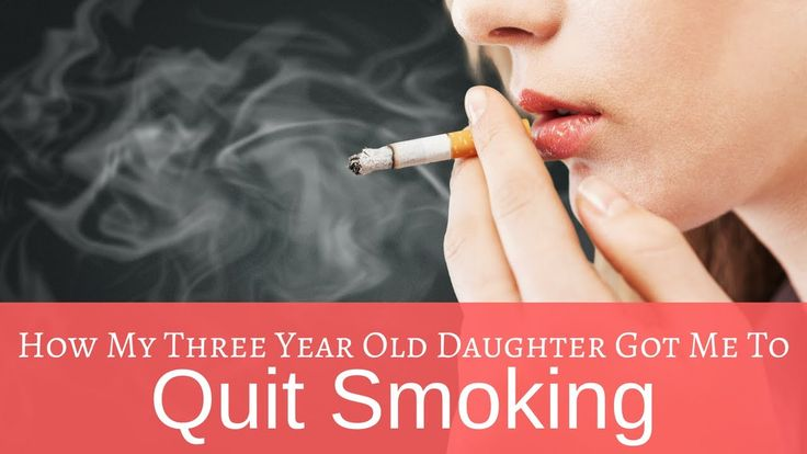 How My Three Year Old Daughter Got Me To Quit Smoking  Being a mother that smokes comes with loads of mommy guilt, especially if you smoked while pregnant. Smoking addiction is really strong and has such a hold on you. Here's how I managed to quit smoking using my daughter as my motivation and strength to do what I needed to do to be healthier and to be a better mother.   #QuitSmoking #Smoking #SmokingAddiciton #SmokingWhilePregnant #MommyGuilt #NicotineFree #NicotineAddiction