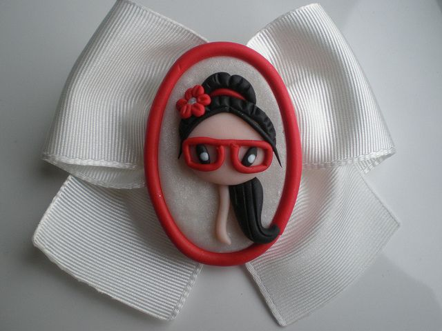 broche fimo   Flickr - Photo Sharing!