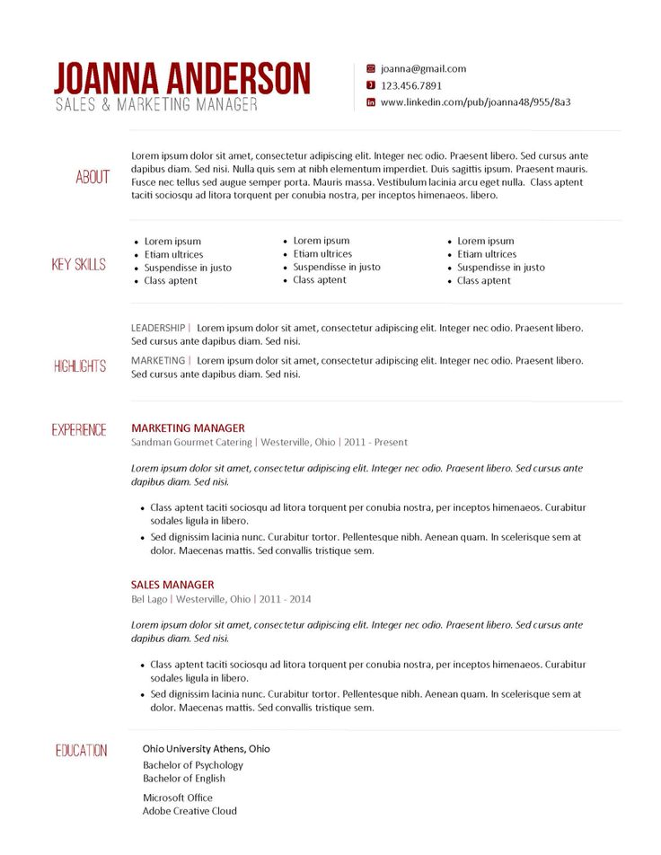 20 best professional CV images on Pinterest Professional cv - production artist resume