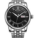 #DailyDeal BUREI Men's Automatic Watch with Day and Date Black Dial Metal Band     List Price: $270.00Deal Price: $59.49You Save: $35.51 (37%)BUREI Men's Automatic https://buttermintboutique.com/dailydeal-burei-mens-automatic-watch-with-day-and-date-black-dial-metal-band/