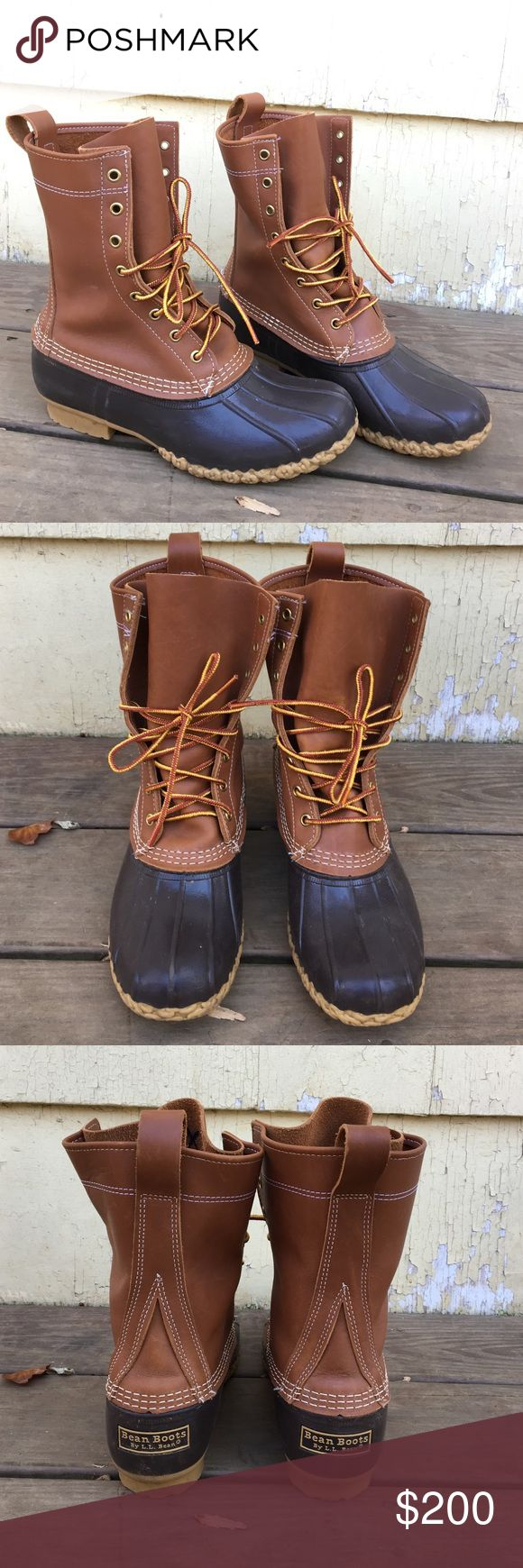 Women's L.L. Bean Boots Women's L.L. Bean Boots. Size 8. Medium width. Worn only once. Like new. These are on the taller side. About 10 inches high. Thinsulate lining. Price would be firm on these as they are hard to find and most are on backorder. Lastly, NO TRADES! L.L. Bean Shoes Winter & Rain Boots