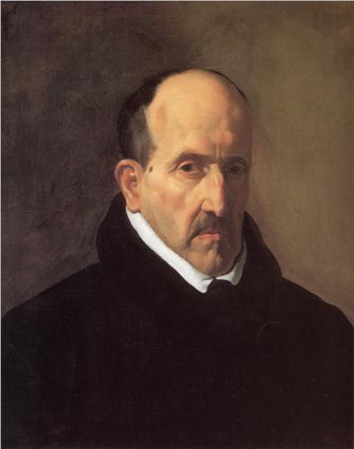 Portrait of Don Luis de Gongora y Argote - Diego Velázquez