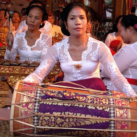 Drums, Gamelan, Ubud, Bali by JonathaninBali