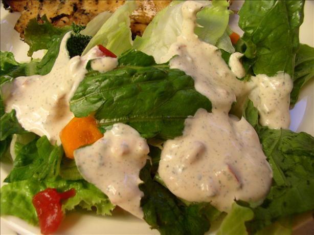Southwest Salad Dressing. Easy and so gooood.