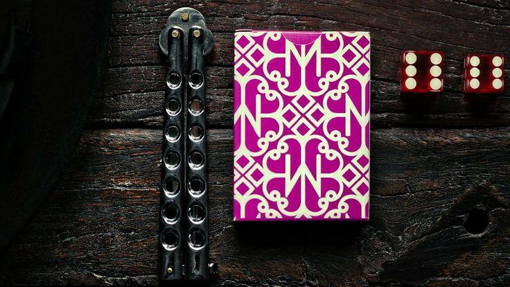 Daniel Madison's Hustlers Purple Deck of Cards   Ellusionist