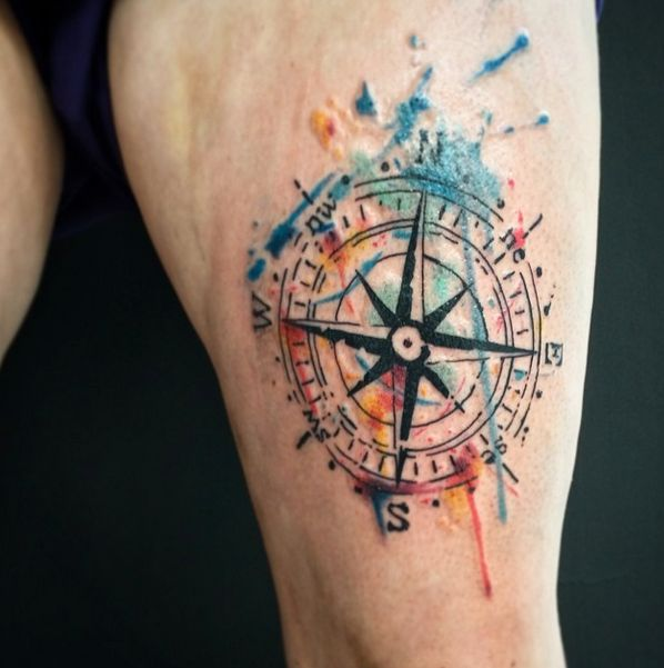 Emrah de Lausbub-Tattoo-Ink-InkObserver-Watercolors-Abstract-Heilbronn-Germany 6