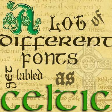 25 Best Ideas About Irish Font On Pinterest Celtic