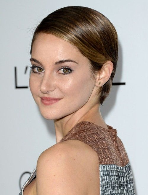 best haircuts for hair shailene woodley s hairstyles playful pixie haircut 1688