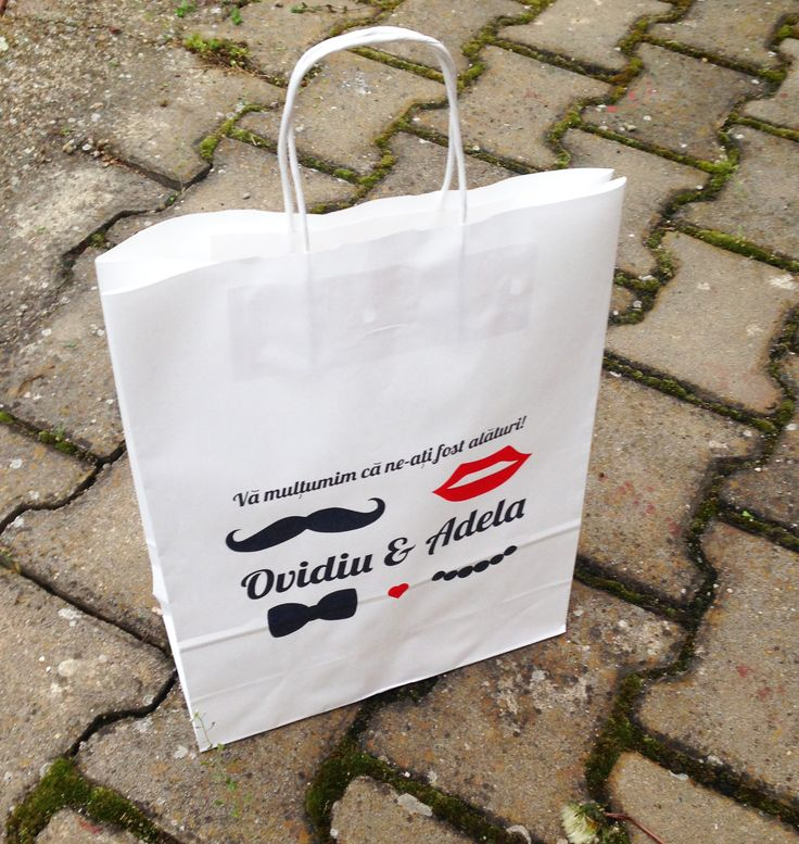 #fotocolaj paper bags with goodies presents for guests