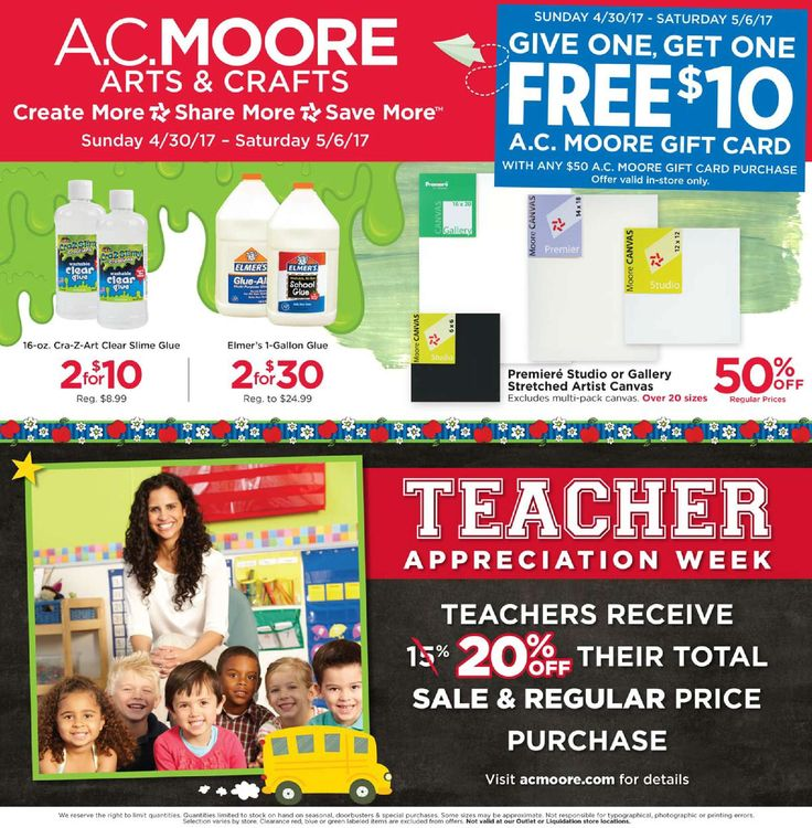 AC Moore Weekly Ad April 30 - May 6, 2017 - http://www.olcatalog.com/home-garden/ac-moore-weekly-ad.html