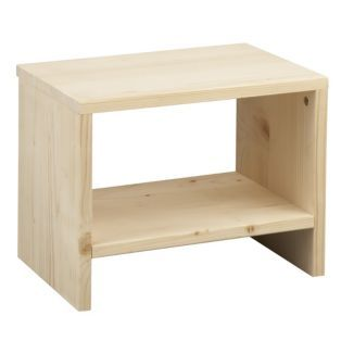Wood Bedside Table Tablette En Bois Meuble Deco Mobilier De Salon
