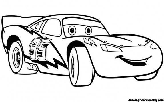 Lightning Mcqueen Coloring Pages Race Car Coloring Pages Disney Coloring Pages Truck Coloring Pages