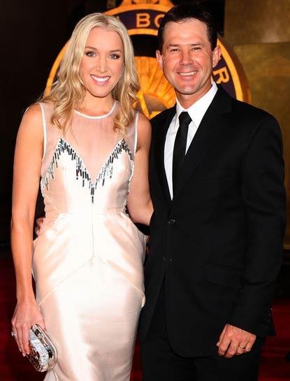Australian cricketers wife