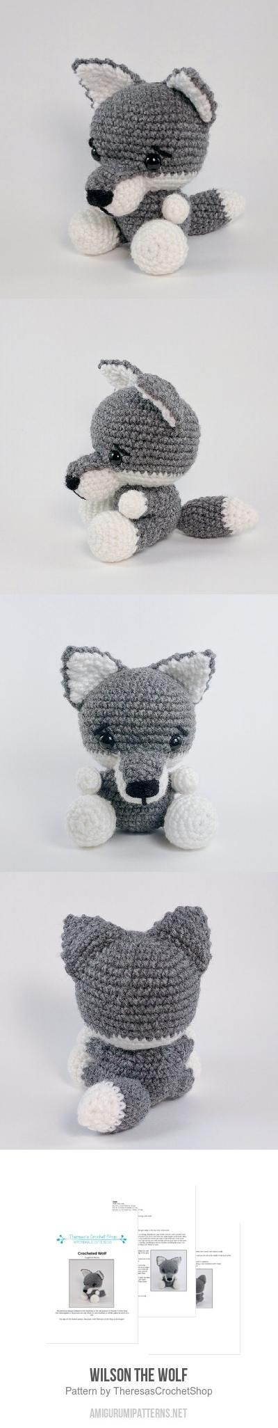 Baby Wolf Amigurumi : 25+ best ideas about Wolf Craft on Pinterest Three ...
