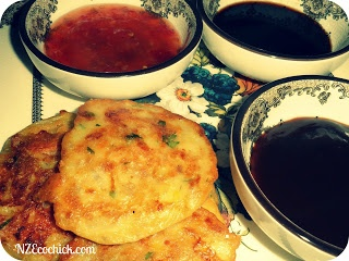NZ Ecochick: Vegetable fritters