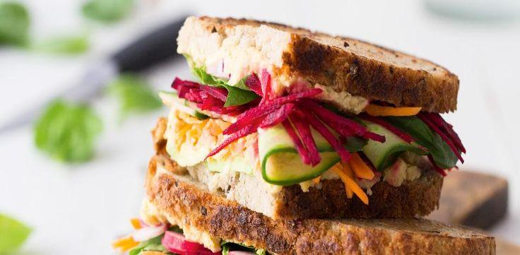 Zeleninový sendvič