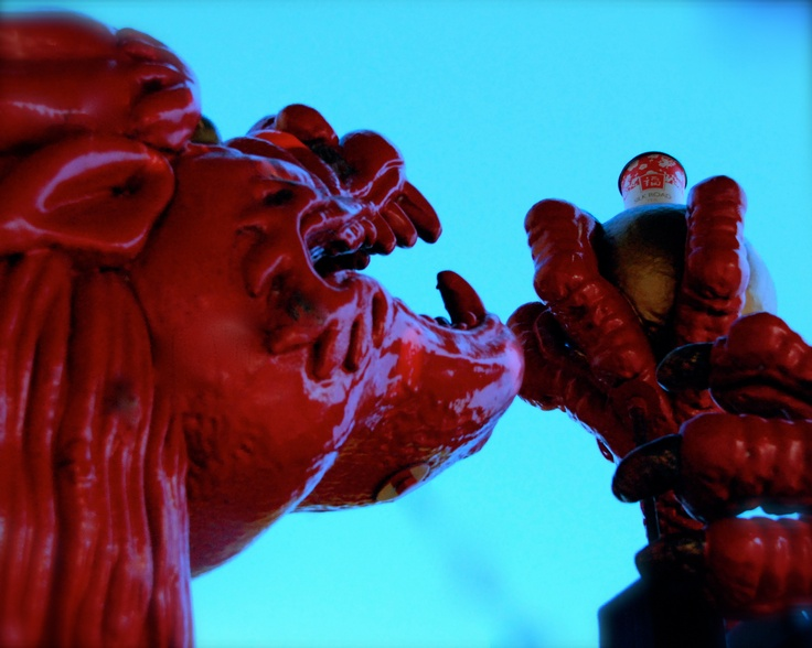 """Tea time with the dragon"" - Photo taken by Sandi"