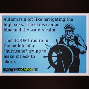 HA HA Yes.....this is true but so rewarding when you have made it to calm waters again!