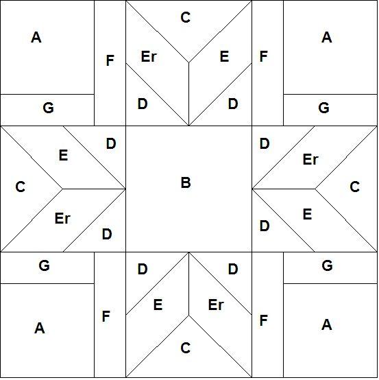 321 best State quilt blocks images on Pinterest Patterns - pattern block template