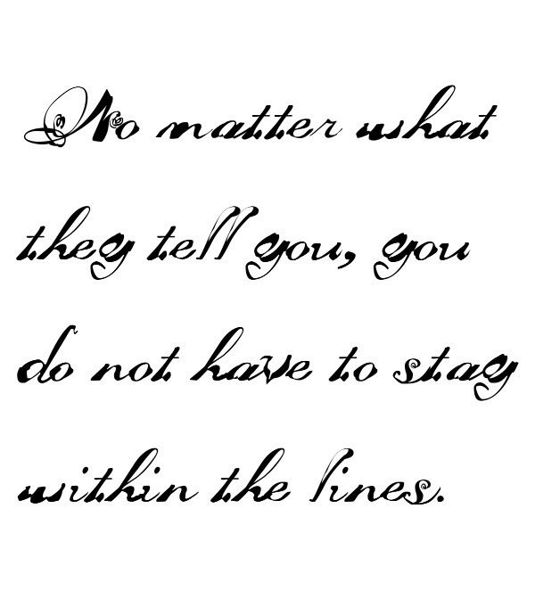 Pretty cursive quotes imgkid the image kid has it