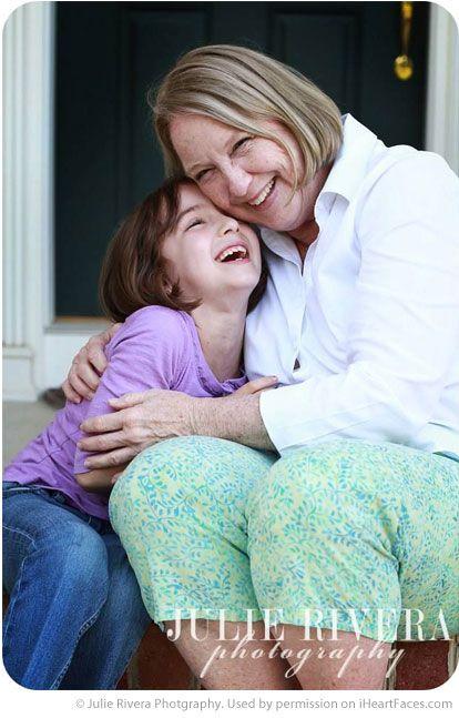 Grandparents Photography Ideas via iHeartFaces.com - Portrait Photography by Julie Rivera Photography