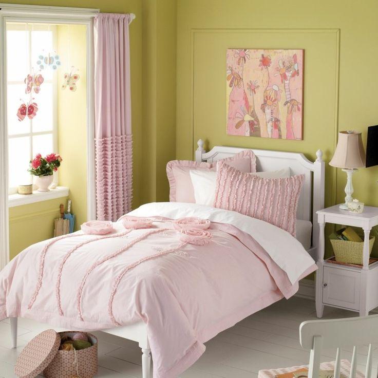 Süßes Jugendzimmer für Mädchen in Grün und Rosa, girls room, pokoj dla dziewczynki