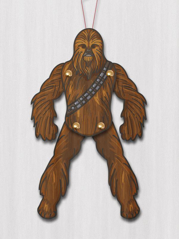 Chewbacca paper puppet